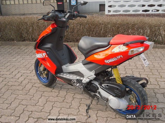 2007 Aprilia  SR 50R Motorcycle Scooter photo
