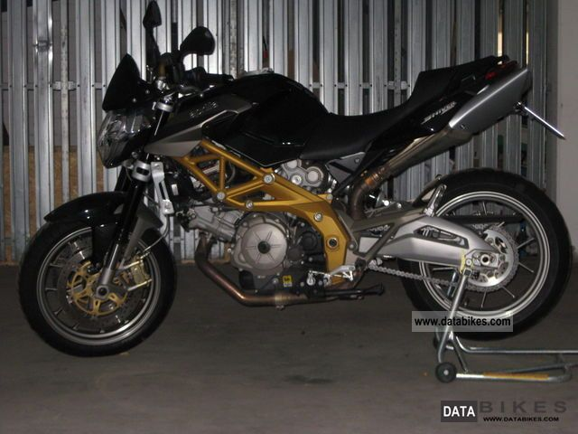 2008 Aprilia  Shiver SL750 Motorcycle Naked Bike photo
