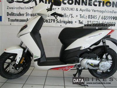 2011 Aprilia  Sportcity One 50 2T, economical 2-stroke engine Motorcycle Scooter photo