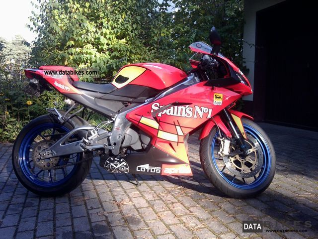 2008 Aprilia  Spain's RS125 No'1 Motorcycle Lightweight Motorcycle/Motorbike photo