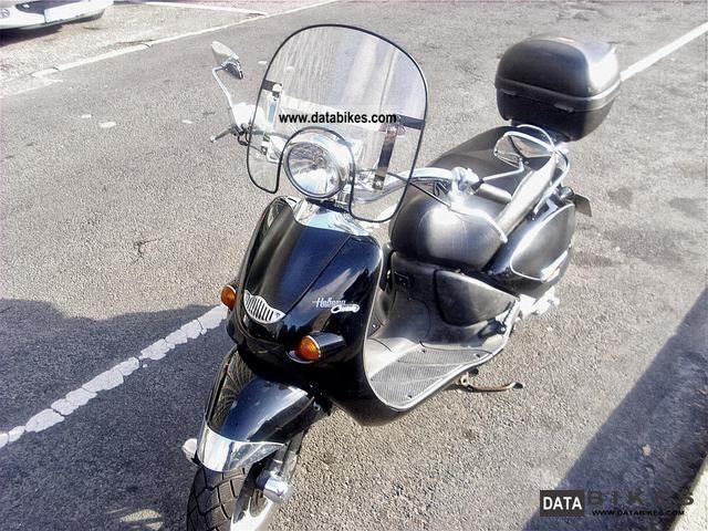2001 Aprilia  Habana 125 Custom Motorcycle Scooter photo