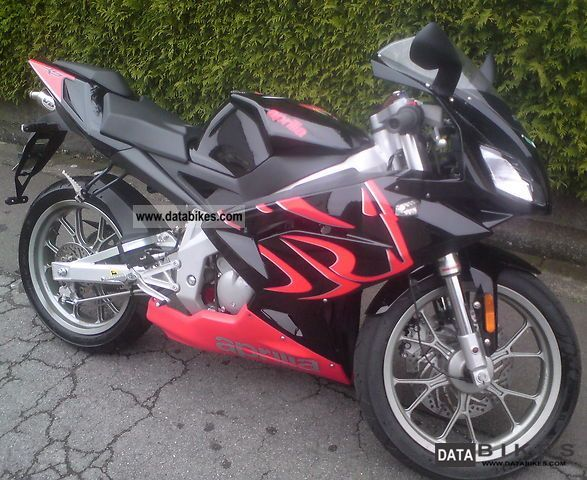 2008 Aprilia  RS 50 Motorcycle Motorcycle photo