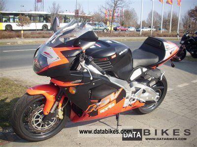 2001 Aprilia  RSV 1000 R (RSV Mille R) Motorcycle Sports/Super Sports Bike photo