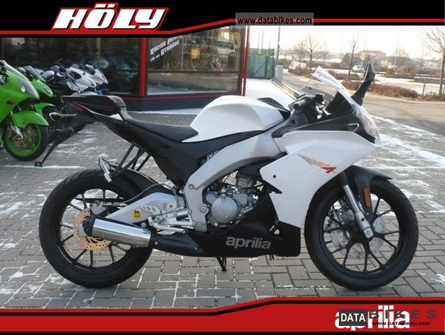 2011 Aprilia  50 RS4 with 280 km Motorcycle Motorcycle photo