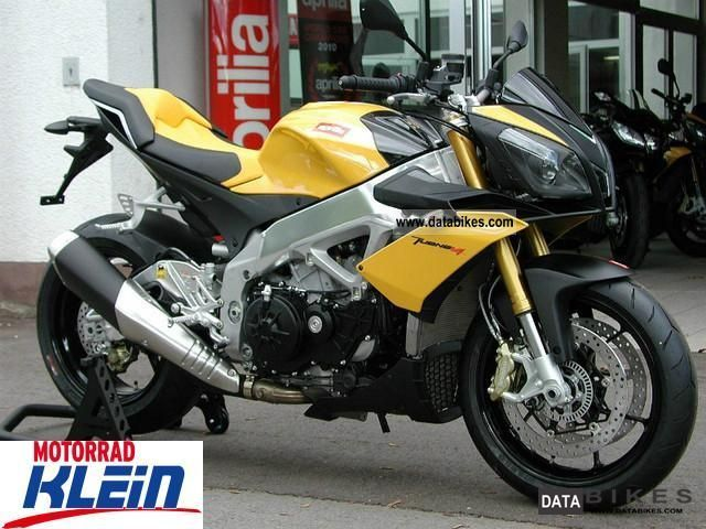 2011 Aprilia  RSV4 Tuono V4R APRC yellow or silver-gray Motorcycle Motorcycle photo