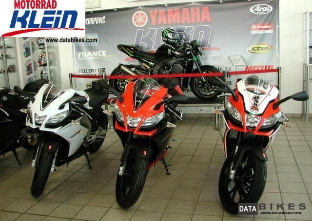 2011 Aprilia  RS4 125 all colors! Motorcycle Lightweight Motorcycle/Motorbike photo