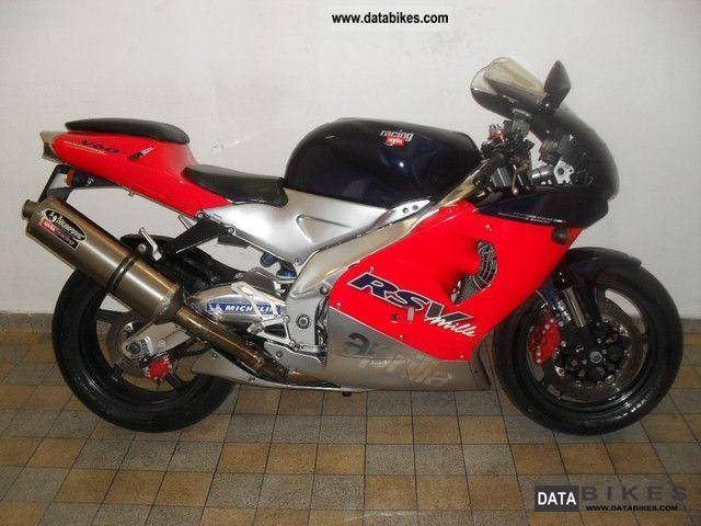 1999 Aprilia  RSV 1000 Mille 2 years warranty! TOP-state Motorcycle Sports/Super Sports Bike photo