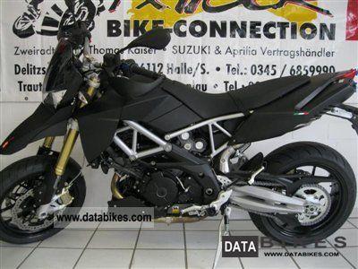 2011 Aprilia  Dorsoduro 750 ABS / matte black Motorcycle Super Moto photo