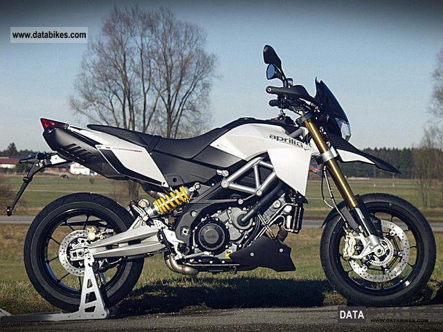 2011 Aprilia  Dorsoduro1200 ABS / ATC in white Motorcycle Super Moto photo