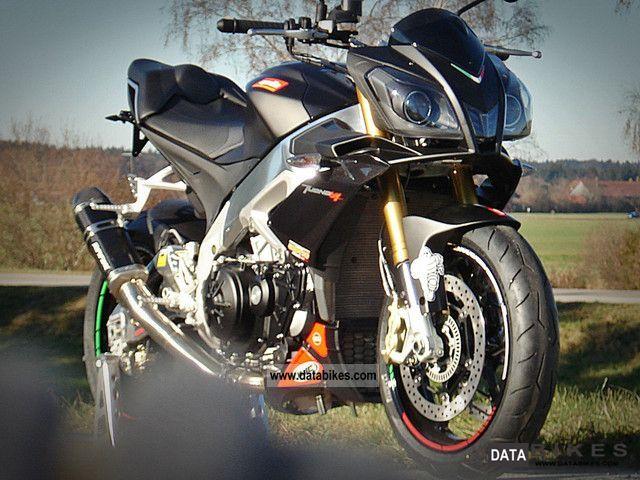 2011 Aprilia  RSV4 Tuono APRC RSI-Italy Black Edition Motorcycle Motorcycle photo