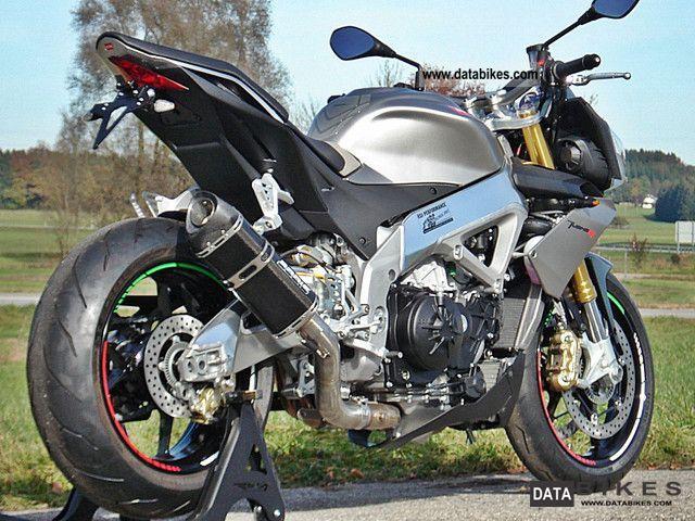 2011 Aprilia  RSV4 Tuono APRC RSI-Italy Silver Edition Motorcycle Motorcycle photo