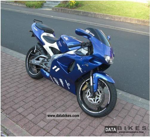 1998 Aprilia  RS 125 MP Motorcycle Lightweight Motorcycle/Motorbike photo