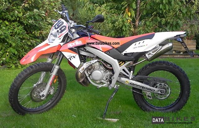 2010 Aprilia  RX 50 Enduro SX Motorcycle Motor-assisted Bicycle/Small Moped photo