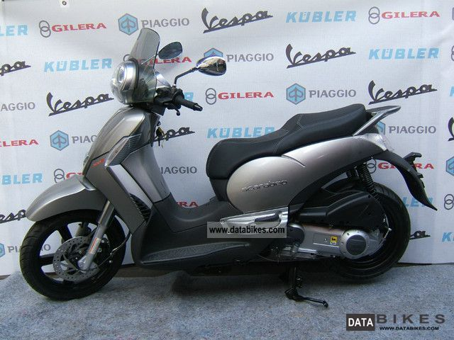 2012 Aprilia  Scarabeo 300 Motorcycle Scooter photo