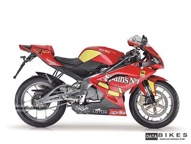 2008 Aprilia  RS 125 Spain's N ° 1 Motorcycle Lightweight Motorcycle/Motorbike photo
