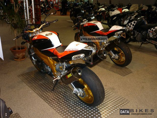 2010 Aprilia Tuono 1000 R Factory with Akrapovic etc.