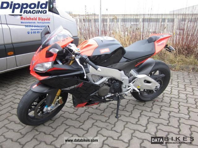 2011 Aprilia  RSV 4 Factory APRC with sports exhaust and much more. Motorcycle Sports/Super Sports Bike photo