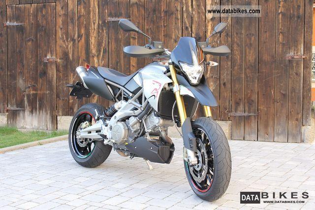 2009 Aprilia  Dorsoduro little like New + Km + ABS Motorcycle Super Moto photo