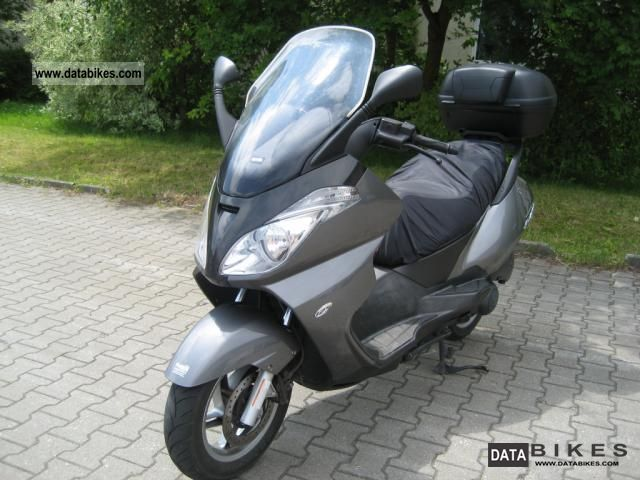2007 Aprilia  125 Atlantic Motorcycle Scooter photo