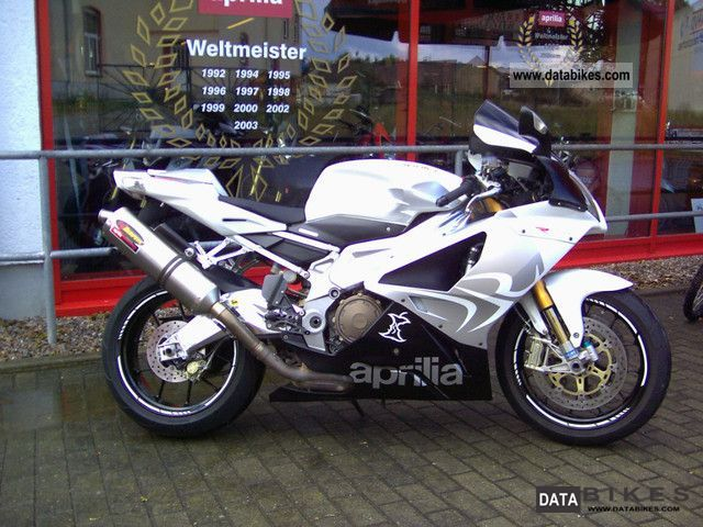2009 Aprilia  RSV 1000 inc Akrapovic Motorcycle Sports/Super Sports Bike photo