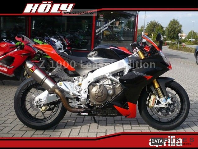 2009 Aprilia  RSV 4 Factory Akrapovic system, Power Commander Motorcycle Motorcycle photo