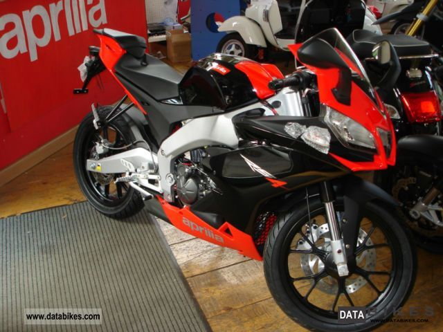 2011 Aprilia 125 WITH AUTOMATIC SWITCHING RS4