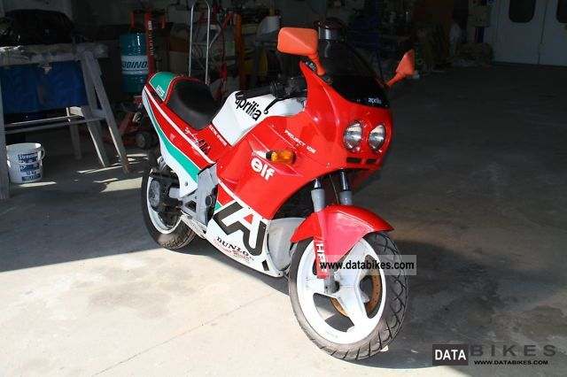 1988 Aprilia  AF1 Replica Motorcycle Racing photo