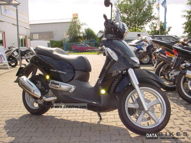 2007 Aprilia  Scarabeo 250 Motorcycle Scooter photo