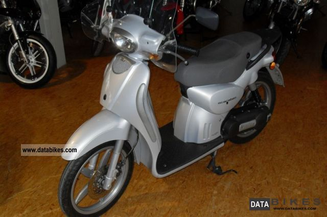 2004 Aprilia  Scarabeo 50 i.e. Motorcycle Scooter photo