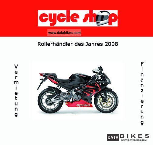 2011 Aprilia  RS 125 15HP Motorcycle Sports/Super Sports Bike photo