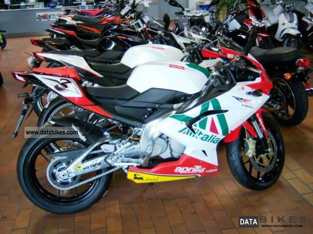 Aprilia  RS 125 (FULL POWER) is now available as Alitalia 2011 Sports/Super Sports Bike photo