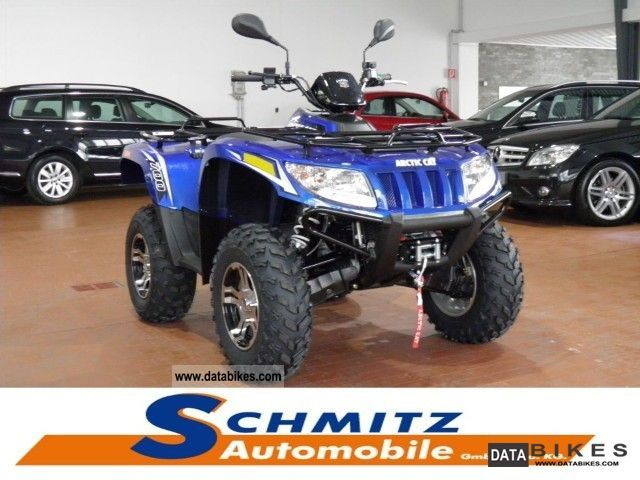 2012 Arctic Cat  700i GT 4x4 power steering / winch / rims Motorcycle Quad photo