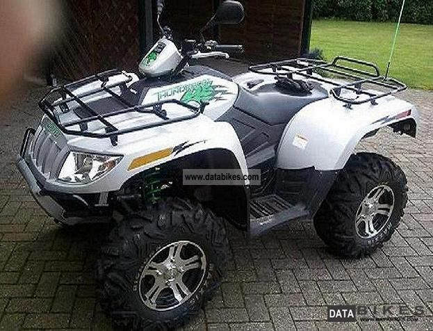 2009 Arctic Cat  Thunder Cat H2 1000i Motorcycle Quad photo
