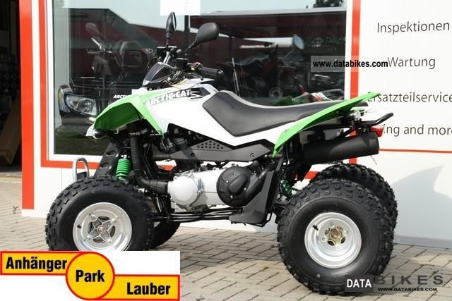 2011 Arctic Cat  DVX 300, Mod 2011, black / lime Motorcycle Quad photo