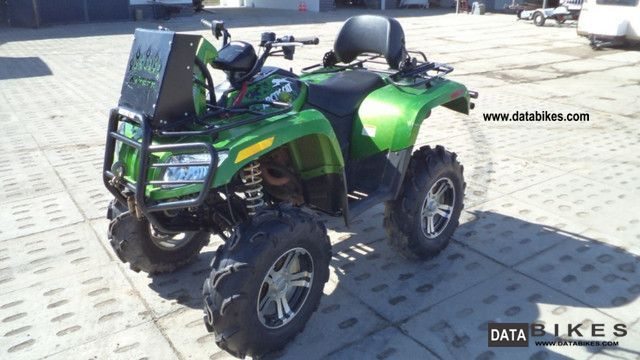 2010 Arctic Cat  700 off-road with a winch and snorkel Motorcycle Quad photo
