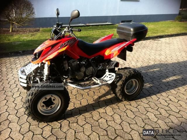 2008 Arctic Cat  DVX 400 Motorcycle Quad photo