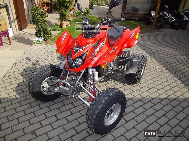 2007 Arctic Cat  DVX 400 Motorcycle Quad photo
