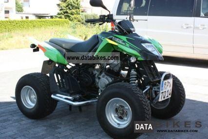 2009 Arctic Cat  DVX 250 Motorcycle Quad photo
