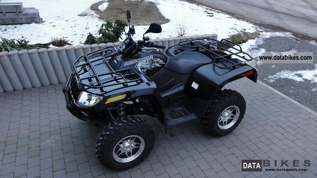 2010 Arctic Cat  Panther 700 Motorcycle Quad photo