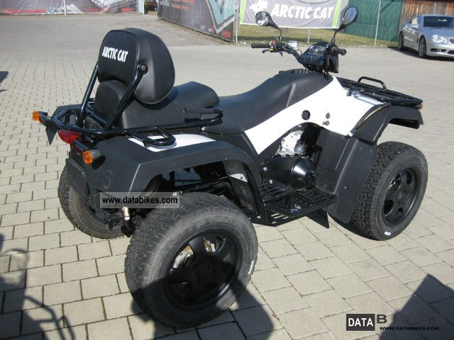 2012 Arctic Cat 500 Trv 4x4 Mod 2005 2006 Without Approval