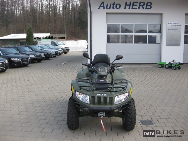 2011 Arctic Cat  TRV 700 + diesel + automatic all-wheel Motorcycle Quad photo