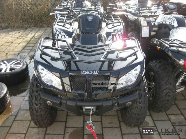 2011 Arctic Cat  425 i SE 4x4 + rims Motorcycle Quad photo