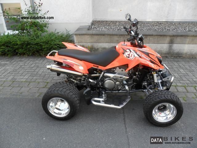 2008 Arctic Cat  DVX400 Motorcycle Quad photo