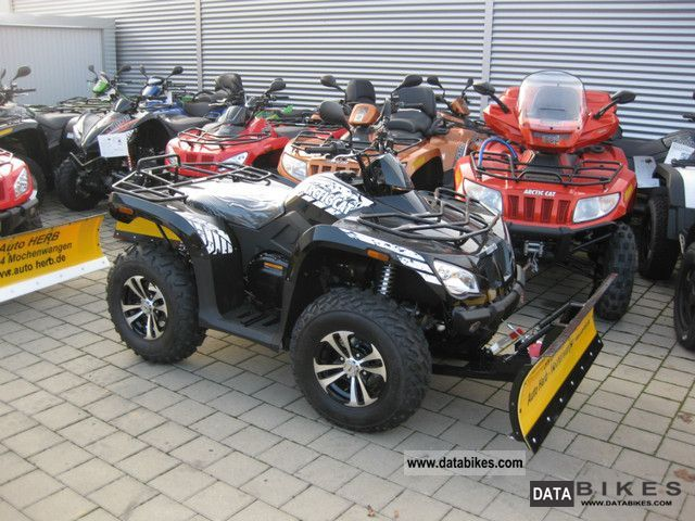2011 Arctic Cat  425 i SE 4x4 + winter + snow plow action Motorcycle Quad photo
