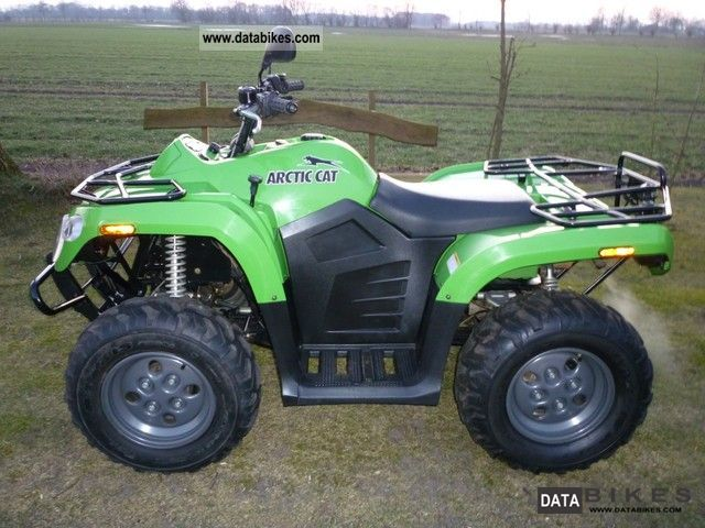 Arctic Cat  400 2x4 including 12 months warranty 2010 Quad photo