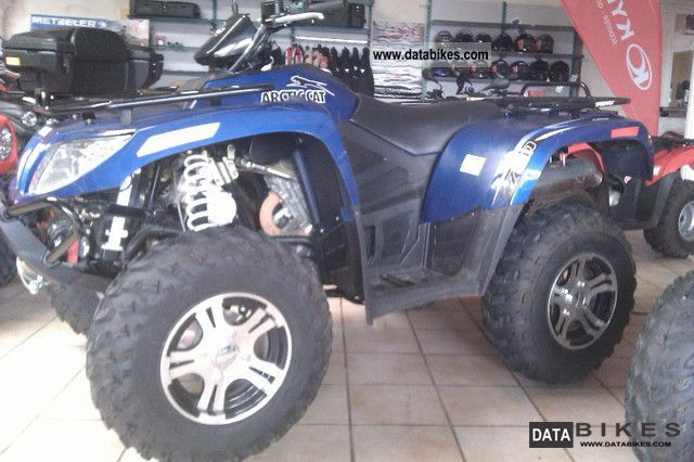 2012 Arctic Cat  700 GT hp EFI Motorcycle Quad photo