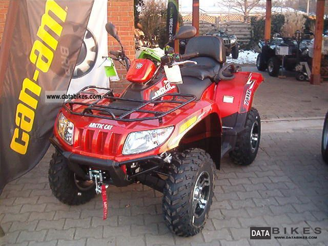 2011 Arctic Cat  I TRV 700 GT with SERVO\u003e Special Request Motorcycle Quad photo
