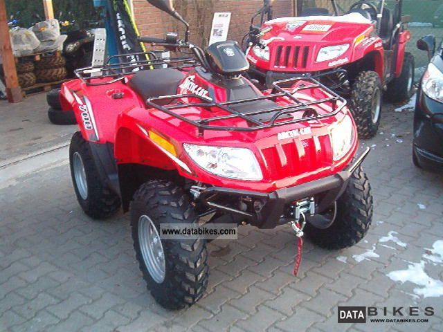 2011 Arctic Cat  AC 700 -2012 - ASK FOR THE SPRING PRICE Motorcycle Quad photo