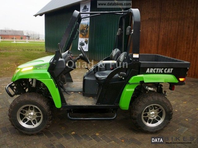 2010 Arctic Cat Prowler 650 XT Motorcycle Quad photo 3