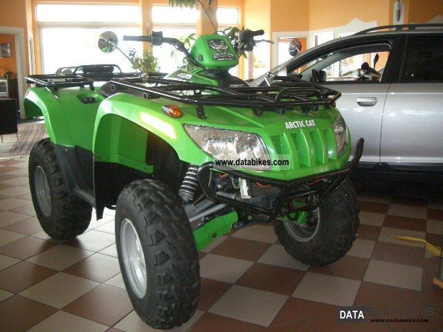 2006 Arctic Cat  650 4x4 Motorcycle Quad photo